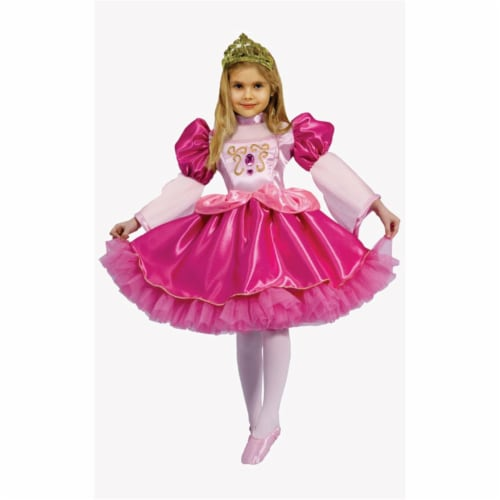 Dress Up America 563-S Graceful Ballerina - Size Small 4-6 Perspective: front