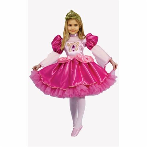 Dress Up America 563-M Graceful Ballerina - Size Medium 8-10 Perspective: front