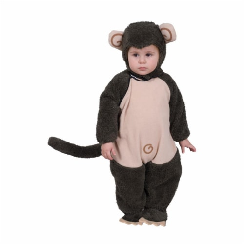 Dress Up America 565-T4 Plush Lil Monkey - Size Toddler 4 Perspective: front