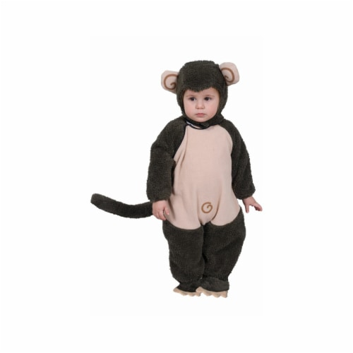 Dress Up America 565-S Plush Lil Monkey - Size Small 4-6 Perspective: front