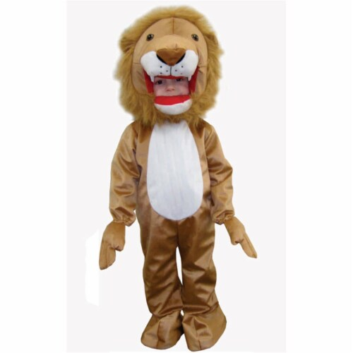 Dress Up America 588-L Plush Lion - Size Large 12-14 Perspective: front