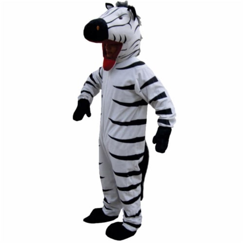 Dress Up America 589-L Striped Zebra - Size Large 12-14 Perspective: front