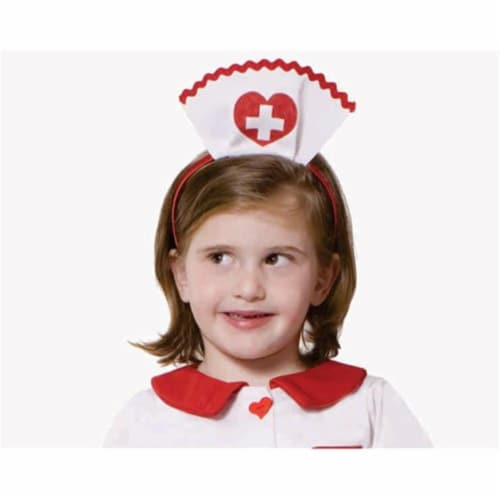 Dress Up America 647 Nurse Headband with Red Cross Insignia Perspective: front