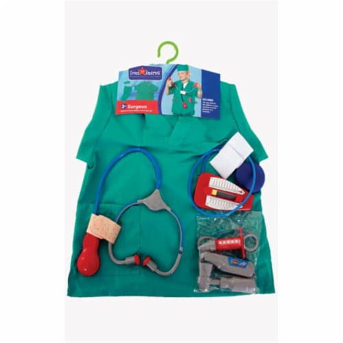 Dress Up America 703 Surgeon Role Play Dress Up Set - Ages 3-7 Perspective: front