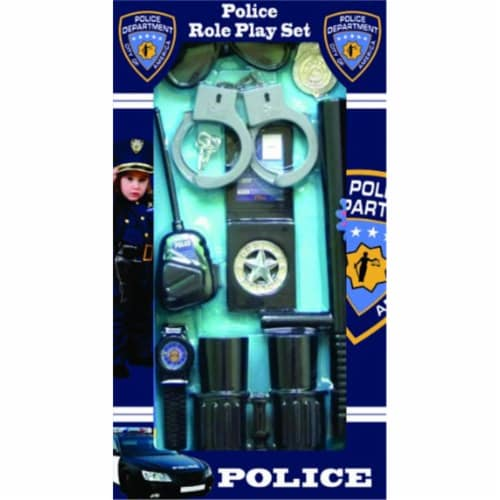 Dress Up America 655 Police Officer Role Play Kit Perspective: front
