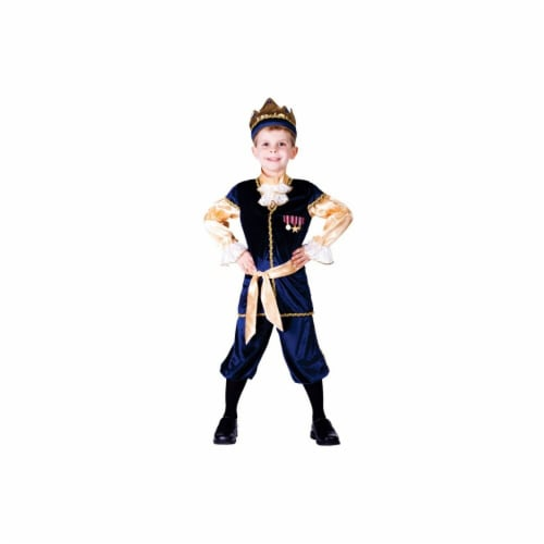 Dress Up America 755-S Renaissance Prince Boys Costume, Small - Age 4 to 6 Perspective: front