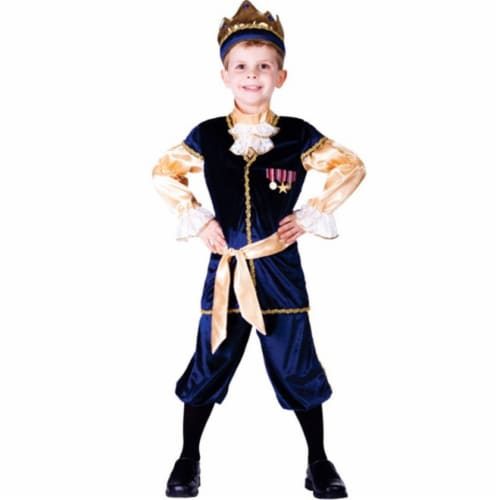 Dress Up America 755-M Renaissance Prince Boys Costume, Medium - Age 8 to 10 Perspective: front