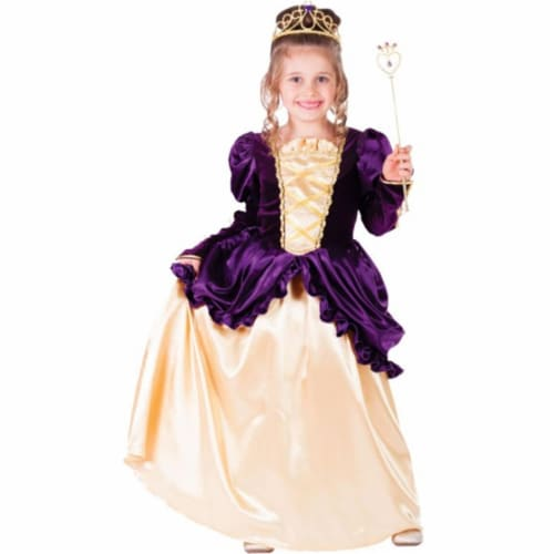 Dress Up America 761-T4 Purple Belle Ball Gown, T4 Perspective: front