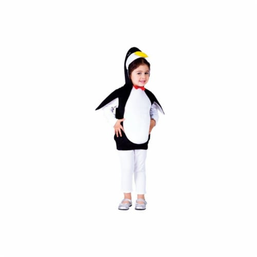 Dress Up America 767-S Happy Penguin Costume, Small - Age 4 to 6 Perspective: front