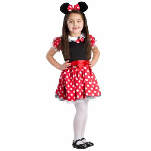 Dress Up America 779-M Charming Miss Mouse Costume, Medium - Age 8 to 10 Perspective: front