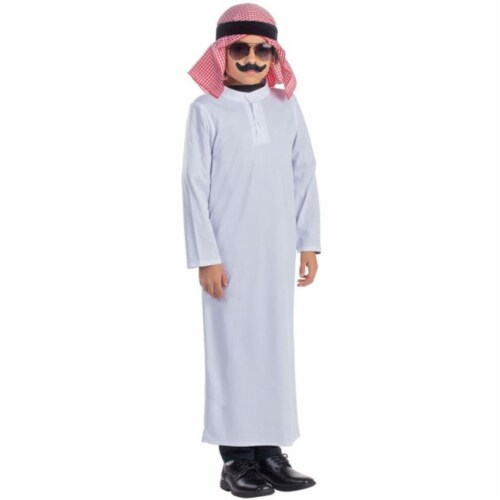 Dress Up America 783-S Arabian Sheik Boys Costume, Small - Age 4 to 6 Perspective: front