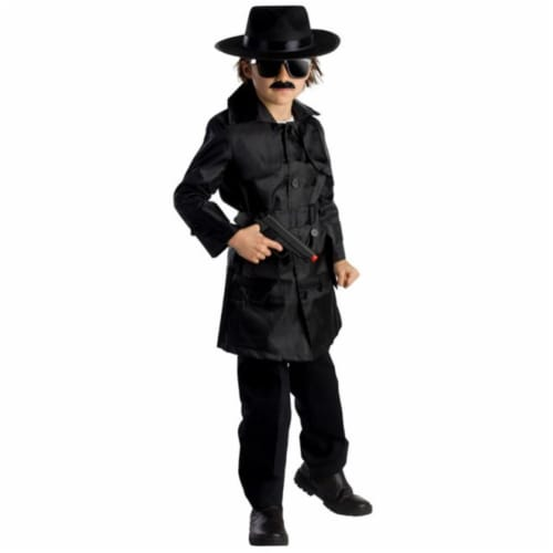 Dress Up America 785-S Spy Agent Boys Costume, Small - Age 4 to 6 Perspective: front