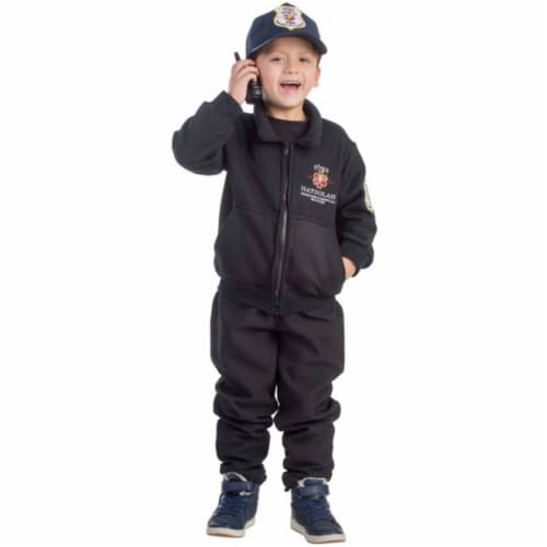 Dress Up America 786-T4 Hatzolah Rescuer Boys Costume, T4 Perspective: front