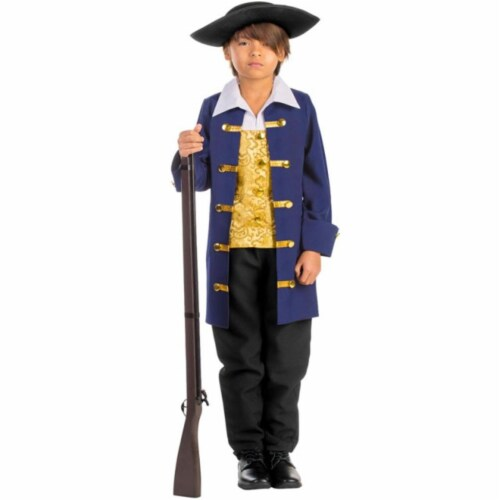 Dress Up America 791-L Boys Colonial Aristocrat Costume, Large - Age 12 to 14 Perspective: front