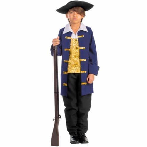 Dress Up America 791-M Boys Colonial Aristocrat Costume, Medium - Age 8 to 10 Perspective: front
