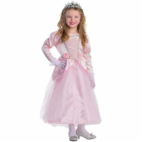 Dress Up America 798-L Adorable Princess Costume, Large - Age 12 to 14 Perspective: front
