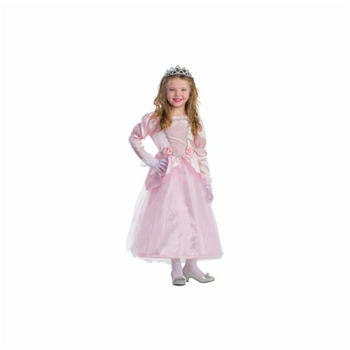 Dress Up America 798-T4 Adorable Princess Costume, T4 Perspective: front