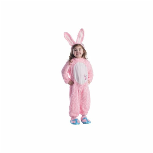 Dress Up America 804-T4 Kids Energizer Bunny Costume, T4 Perspective: front