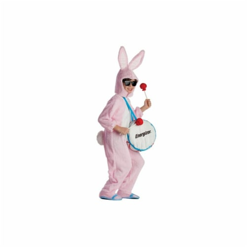 Dress Up America 806-L Energizer Bunny Mascot Costume, Large - Age 12 to 14 Perspective: front
