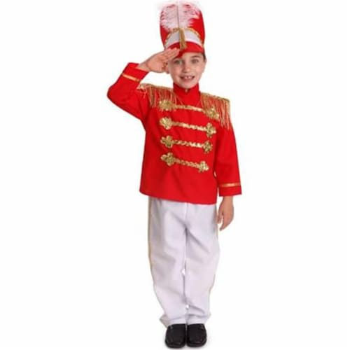 Dress Up America 875-M Fancy Drum Major Costume, Medium Perspective: front