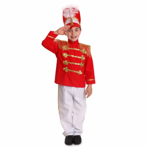 Dress Up America 875-S Fancy Drum Major Costume, Small 4 - 6 Perspective: front