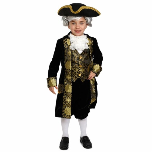 Dress Up America 878-S Historical George Washington Costume, Small 4 - 6 Perspective: front