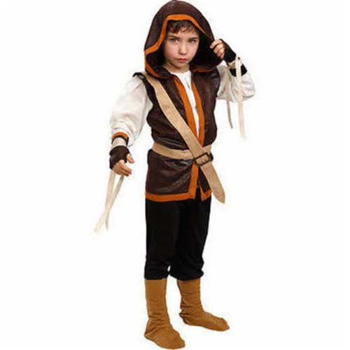 Dress Up America 880-L Kids Hunter Costume, Large Perspective: front