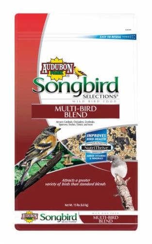 Audubon Park Songbird Selections Assorted Species Wild Bird Food Millet 15 lb. - Case Of: 1; Perspective: front
