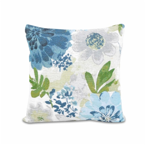 Arlee Home Fashions Dahlia Mist Pillow Perspective: front