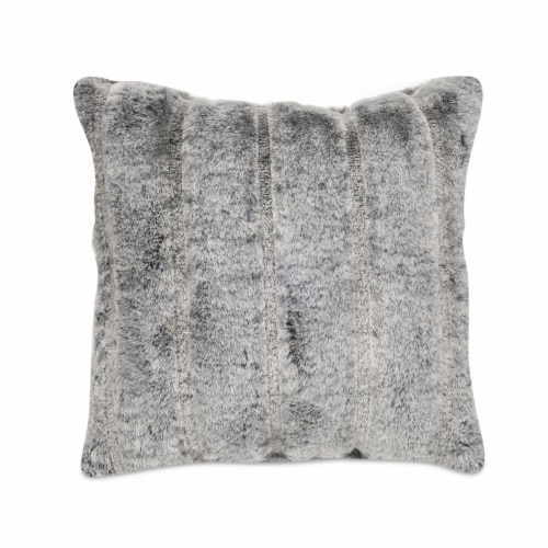 Arlee Home Fashions Parbella Decor Pillow - Charcoal Perspective: front