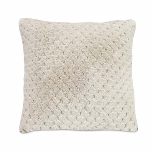 Arlee Home Fashions Palazzo Decor Pillow - Cream Perspective: front