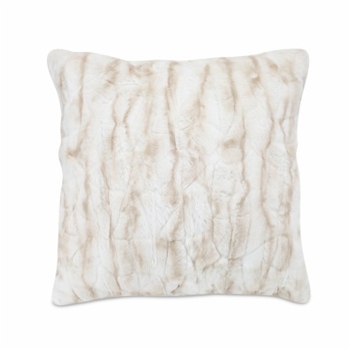 Arlee Home Fashions Decor Pillow - Seattle Taupe Perspective: front