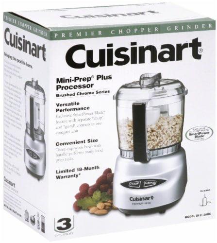Cuisinart Mini-Prep Plus Food Processor - Silver Perspective: front