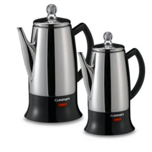 Cuisinart Classic 12 Cup Percolator Perspective: front