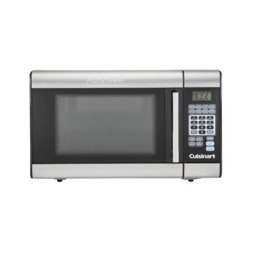 Cuisinart Stainless Steel Microwave - Silver/Black Perspective: front