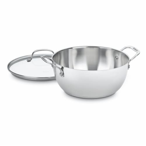 Cuisinart Cookware Chefs Classic Stainless Multi - Purpose Pot - 5.5 Quart Perspective: front