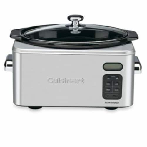 Cuisinart Programmable Slow Cooker - Stainless Steel Perspective: front