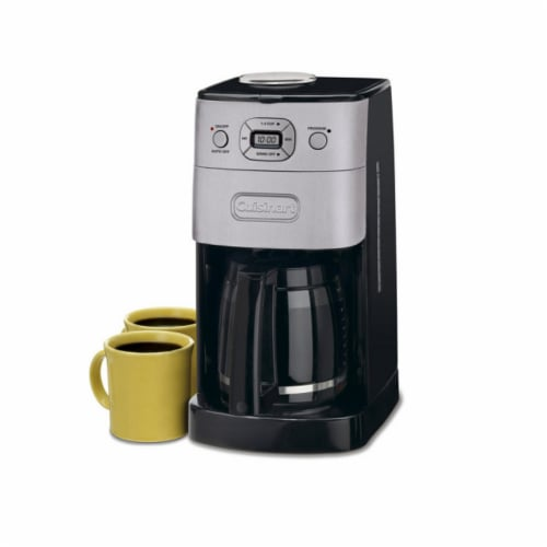 Cuisinart 12-Cup Grind and Brew Automatic Coffeemaker Perspective: front