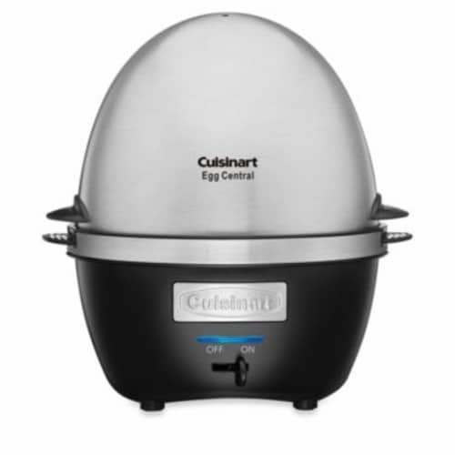Cuisinart 10 Egg Cooker - Stainless Steel Perspective: front
