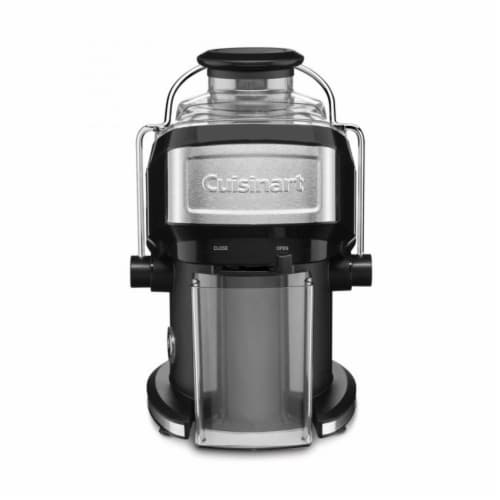 Cuisinart Compact Juice Extractor - Black/Silver Perspective: front