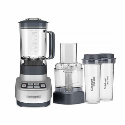 Cuisinart Velocity Ultra Blender and Food Processor with Travel Cups Perspective: front