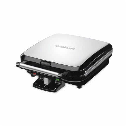 Cuisinart 4-Slice Belgian Waffle Maker - Stainless Steel Perspective: front