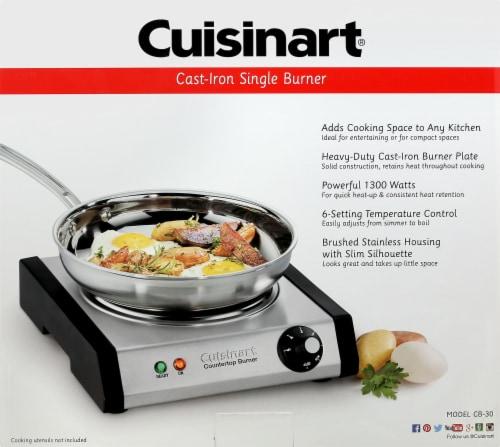Cuisinart Countertop Single Burner Perspective: front
