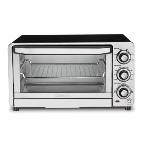 Cuisinart CustomClassic Toaster Oven Broiler - Stainless Steel Perspective: front