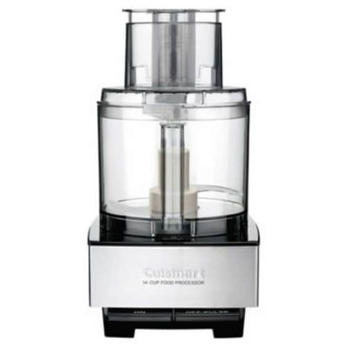 Cuisinart Custom 14 Food Processor - Brushed Stainless Perspective: front