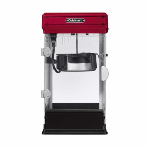 Cuisinart Classic-Style Popcorn Maker - Red/Black Perspective: front