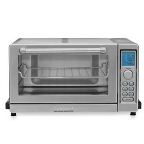 Cuisinart Deluxe Convection Toaster Oven Broiler - Stainless Steel Perspective: front