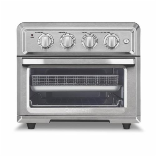 Cuisinart Air Fryer Toaster Oven - Silver Perspective: front