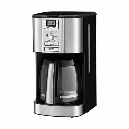 Cuisinart 14 Cup Brew Central Programmable Coffee Maker (Certified Refurbished) Perspective: front