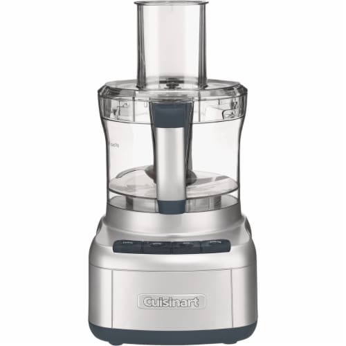 Cuisinart FP-8SVP1 8-Cup Elemental Food Processor, Silver Perspective: front